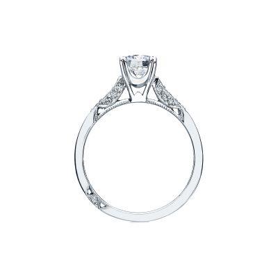 Tacori 2586RD6 Platinum Round Engagement Ring side