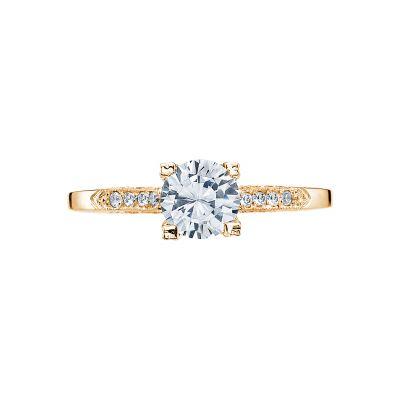 Tacori 2586RD6-Y Simply Tacori Yellow Gold Round Engagement Ring