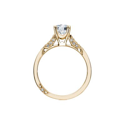 Tacori 2586RD6-Y Yellow Gold Round Engagement Ring side