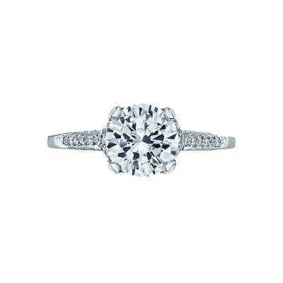 Tacori 2603RD Simply Tacori White Gold Round Engagement Ring