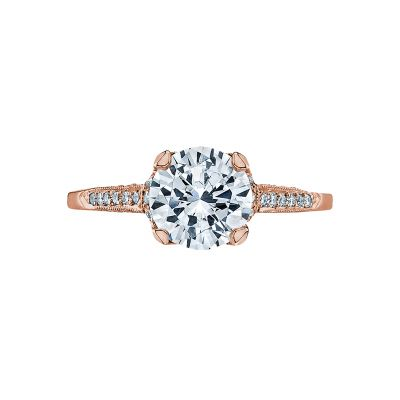 Tacori 2603RD75-PK Simply Tacori Rose Gold Round Engagement Ring