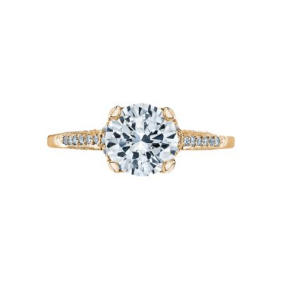 Tacori 2603RD75-Y Simply Tacori Yellow Gold Round Engagement Ring