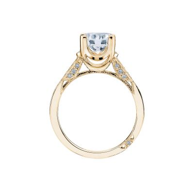 Tacori 2603RD75-Y Yellow Gold Round Engagement Ring side