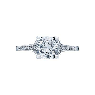 Tacori 2604RD Simply Tacori White Gold Round Engagement Ring