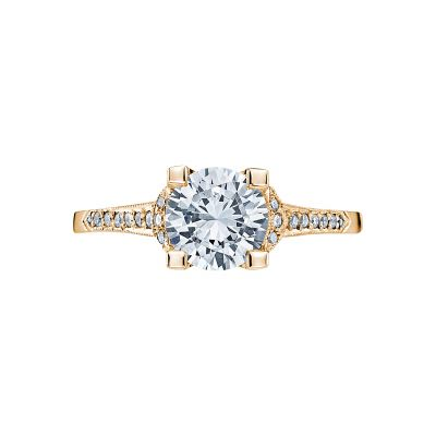 Tacori 2604RD75-Y Simply Tacori Yellow Gold Round Engagement Ring