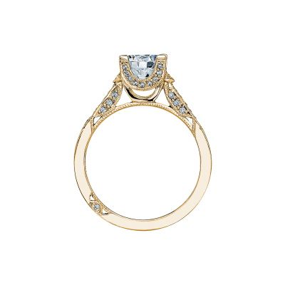 Tacori 2604RD75-Y Yellow Gold Round Engagement Ring side