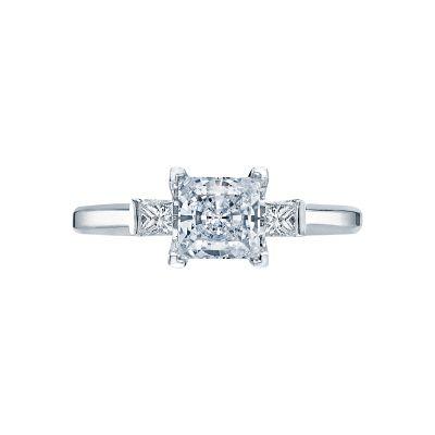 Tacori 2605PR Simply Tacori White Gold Princess Cut Engagement Ring