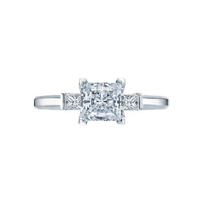 Tacori 2605PR55 Simply Tacori Platinum Princess Cut Engagement Ring