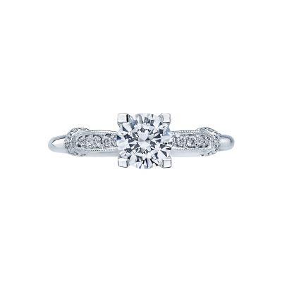 Tacori 2615RD Simply Tacori White Gold Round Engagement Ring
