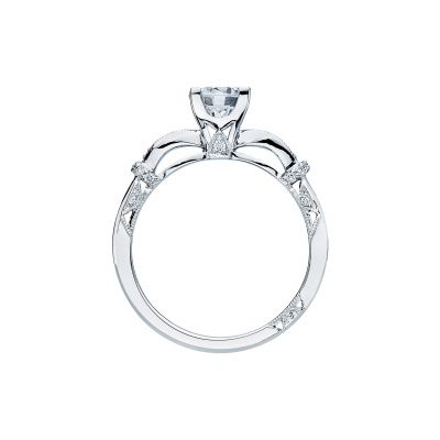 Tacori 2615RD White Gold Round Engagement Ring side
