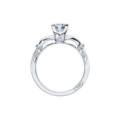 Tacori 2615RD6 Platinum Round Engagement Ring side