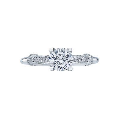 Tacori 2615RD6 Simply Tacori Platinum Round Engagement Ring