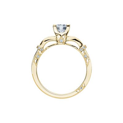 Tacori 2615RD6-Y Yellow Gold Round Engagement Ring side