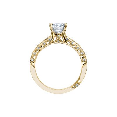 Tacori 2616RD65-Y Yellow Gold Round Engagement Ring side