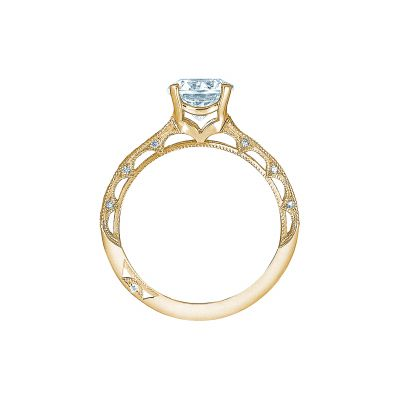 Tacori 2617RD65-Y Yellow Gold Round Engagement Ring side