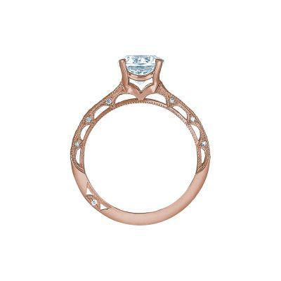 Tacori 2617RD65PK Rose Gold Round Engagement Ring side