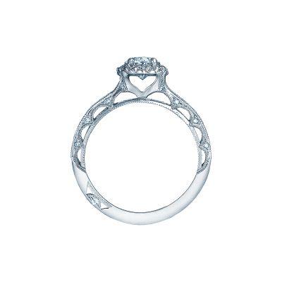 Tacori 2618OV75X55 Platinum Oval Engagement Ring side