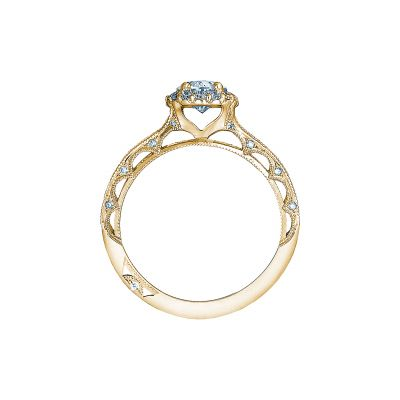 Tacori 2618OV75X55-Y Yellow Gold Oval Engagement Ring side