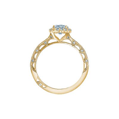 Tacori 2618RD6-Y Yellow Gold Round Engagement Ring side