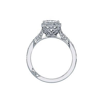 Tacori 2620OV White Gold Oval Engagement Ring side