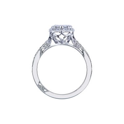 Tacori 2620PS White Gold Pear Shaped Engagement Ring side