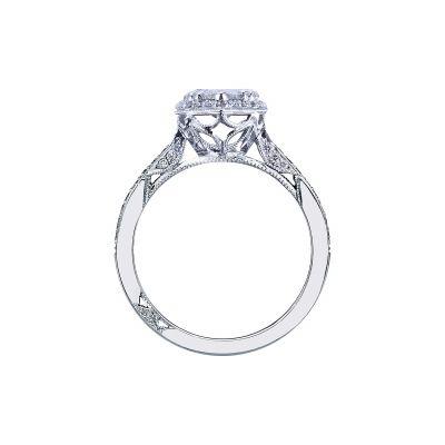 Tacori 2620PS8X5P Platinum Pear Shaped Engagement Ring side