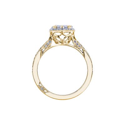 Tacori 2620PS8X5P-Y Yellow Gold Pear Shaped Engagement Ring side