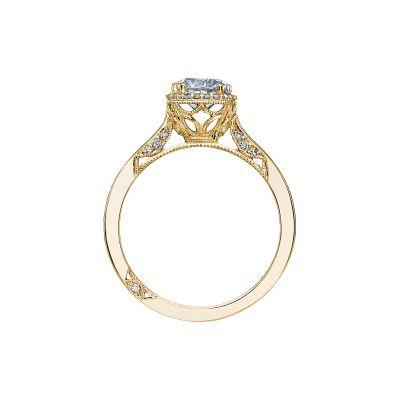 Tacori 2620RDSM-Y Yellow Gold Round Engagement Ring side