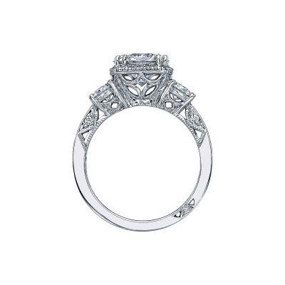 Tacori 2623RDLG-W White Gold Round Engagement Ring side