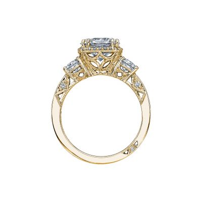 Tacori 2623RDLG-Y Yellow Gold Round Engagement Ring side