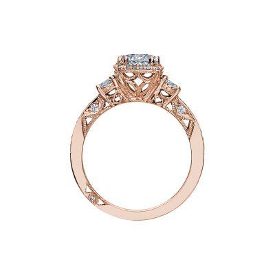 Tacori 2623RDSMP-PK Rose Gold Round Engagement Ring side