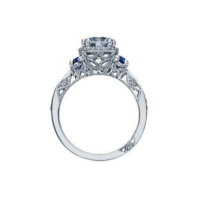 Tacori 2628RDSP Platinum Round Engagement Ring side