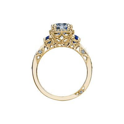 Tacori 2628RDSP-Y Yellow Gold Round Engagement Ring side