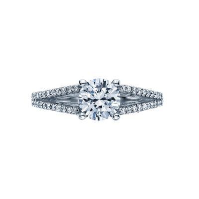 Tacori 2632RD Simply Tacori White Gold Round Engagement Ring