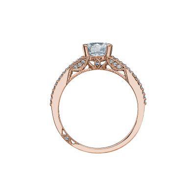 Tacori 2632RD65-PK Rose Gold Round Engagement Ring side