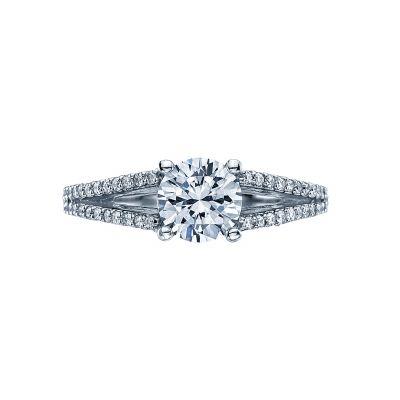 Tacori 2632RD65 Simply Tacori Platinum Round Engagement Ring
