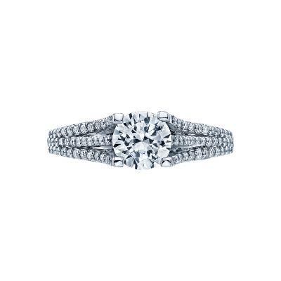 Tacori 2634RD Simply Tacori White Gold Round Engagement Ring