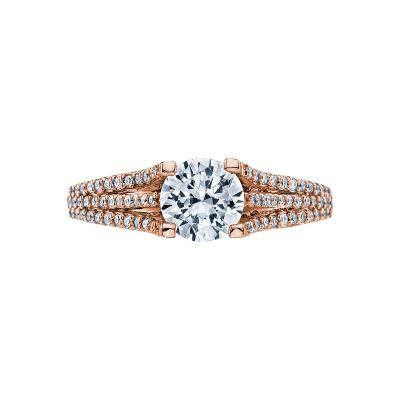Tacori 2634RD65-PK Simply Tacori Rose Gold Round Engagement Ring