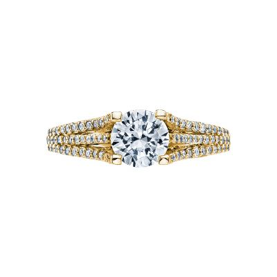Tacori 2634RD65-Y Simply Tacori Yellow Gold Round Engagement Ring