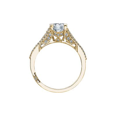 Tacori 2634RD65-Y Yellow Gold Round Engagement Ring side