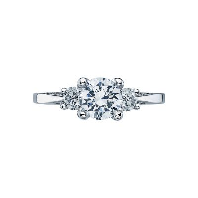 Tacori 2635RD65 Simply Tacori Platinum Round Engagement Ring