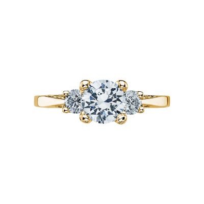 Tacori 2635RD65-Y Simply Tacori Yellow Gold Round Engagement Ring