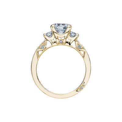 Tacori 2635RD65-Y Yellow Gold Round Engagement Ring side