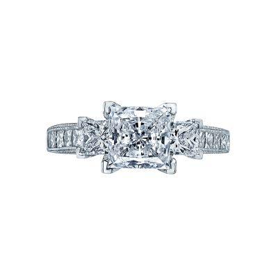 Tacori 2636PR7 Simply Tacori Platinum Princess Cut Engagement Ring