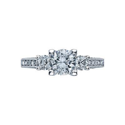 Tacori 2636RD Simply Tacori White Gold Round Engagement Ring