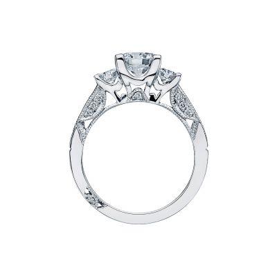Tacori 2636RD65 Platinum Round Engagement Ring side