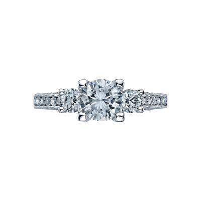 Tacori 2636RD65 Simply Tacori Platinum Round Engagement Ring