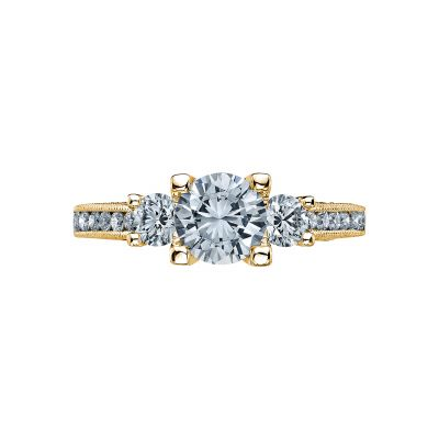 Tacori 2636RD65-Y Simply Tacori Yellow Gold Round Engagement Ring