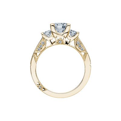 Tacori 2636RD65-Y Yellow Gold Round Engagement Ring side