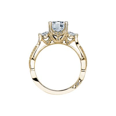 Tacori 2637RD75-Y Yellow Gold Round Engagement Ring side